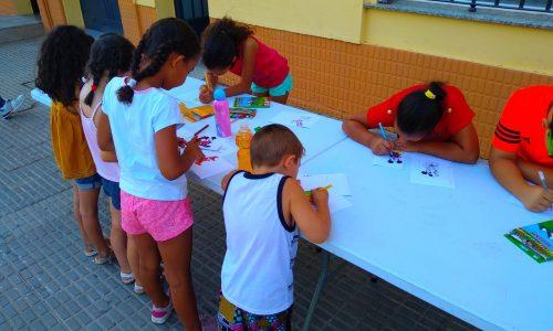 """Niños de 5 a 14 años participan en la actividad """"Julio Activo"""" del programa Barrios Activos"""