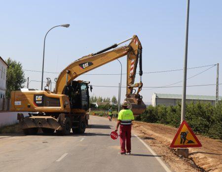 Diputación invierte casi 2 millones de euros en la mejora de la carretera que une Valdivia y Entrerríos